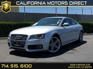 2012 Audi S5 Premium Plus Carfax 1-Owner  Ice Silver Metallic  We are not responsible for typo