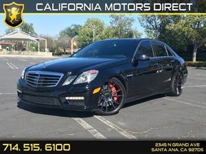 2013 MERCEDES E 63 AMG Sedan Carfax Report  Black  We are not responsible for typographical er