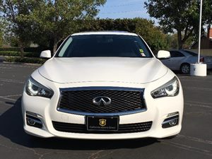 2014 INFINITI Q50 Premium Carfax 1-Owner  Moonlight White  We are not responsible for typograp