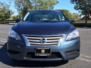 2014 Nissan Sentra S Carfax 1-Owner Audio  Auxiliary Audio Input Clearcoat Paint Day-Night Rea