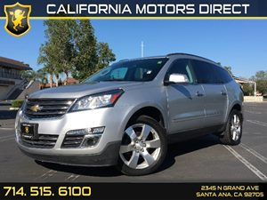 2014 Chevrolet Traverse LTZ Carfax 1-Owner - No AccidentsDamage Reported  Champagne Silver Met