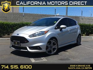 2014 Ford Fiesta ST Carfax 1-Owner  Ingot Silver Metallic  We are not responsible for typograp