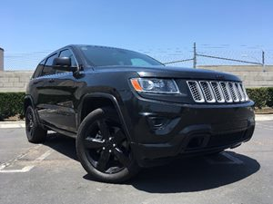 2014 Jeep Grand Cherokee Altitude Carfax 1-Owner Audio  Hard Disk Drive Media Storage Cargo Fea