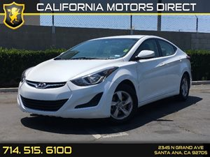 2014 Hyundai Elantra SE Carfax Report - No AccidentsDamage Reported  Pearl White  We are not