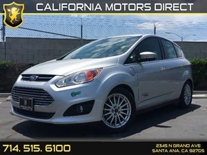 2014 Ford C-Max Energi SEL Carfax 1-Owner - No AccidentsDamage Reported  Ingot Silver Metallic