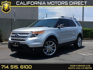 2014 Ford Explorer XLT Carfax 1-Owner  Ingot Silver Metallic  We are not responsible for typog