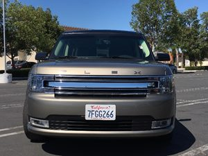 2014 Ford Flex SEL Carfax 1-Owner  Mineral Gray Metallic  We are not responsible for typograph