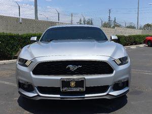 2015 Ford Mustang EcoBoost Premium Carfax 1-Owner  Ingot Silver Metallic  We are not responsib