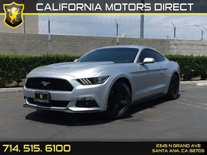 2015 Ford Mustang EcoBoost Premium Carfax 1-Owner  Ingot Silver Metallic  We are not responsib