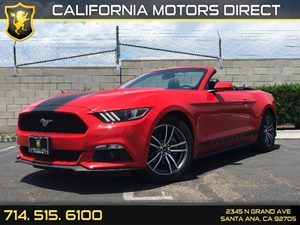 2017 Ford Mustang EcoBoost Premium Carfax 1-Owner - No AccidentsDamage Reported  Race Red  We