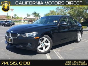 2015 BMW 3 Series 320i Carfax 1-Owner  Black Sapphire Metallic  We are not responsible for typ