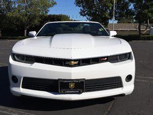 2015 Chevrolet Camaro LT Carfax 1-Owner - No AccidentsDamage Reported  Summit White  We are n