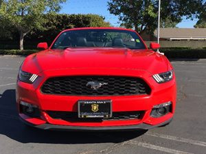 2017 Ford Mustang EcoBoost Premium Carfax 1-Owner Air Conditioning  AC Audio  Auxiliary Audio