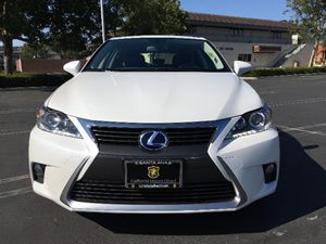 2015 Lexus CT 200h Hybrid Carfax 1-Owner - No AccidentsDamage Reported  Eminent White  We are