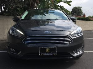 2016 Ford Focus Titanium Carfax 1-Owner  Gray See ourentire inventory at wwwOCMOTORSDIRECT1c