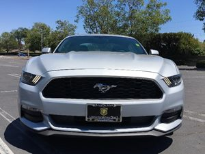 2016 Ford Mustang V6 Carfax 1-Owner - No AccidentsDamage Reported  Ingot Silver Metallic See