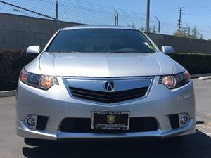 2014 Acura TSX Special Edition Carfax 1-Owner - No AccidentsDamage Reported  Silver Moon  We