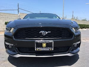 2015 Ford Mustang EcoBoost Carfax 1-Owner - No AccidentsDamage Reported  Black See ourentire