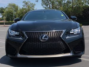 2015 Lexus RC F  Carfax 1-Owner - No AccidentsDamage Reported  Black  We are not responsible
