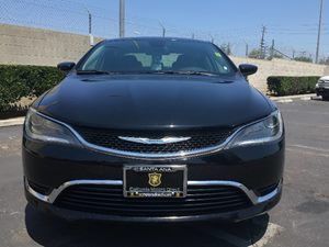 2015 Chrysler 200 Limited Carfax Report - No AccidentsDamage Reported  Black Clearcoat  We ar