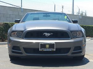 2014 Ford Mustang V6 Carfax 1-Owner - No AccidentsDamage Reported  Sterling Gray Metallic  We