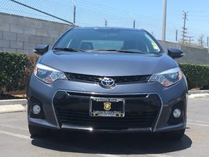 2014 Toyota Corolla S Carfax 1-Owner - No AccidentsDamage Reported  Gray  We are not responsi