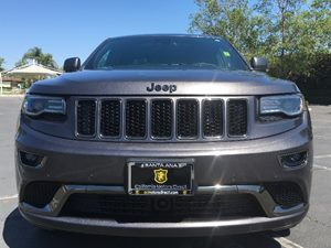 2015 Jeep Grand Cherokee High Altitude Carfax 1-Owner - No AccidentsDamage Reported Audio  Sate