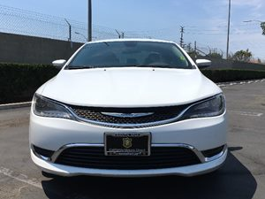 2015 Chrysler 200 Limited Carfax 1-Owner  Bright White Clearcoat  We are not responsible for t