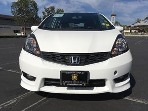 2013 Honda Fit Sport Carfax 1-Owner - No AccidentsDamage Reported  Taffeta White  We are not