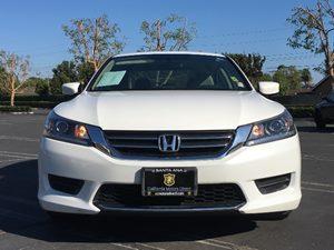 2014 Honda Accord Sedan LX Carfax 1-Owner Audio  Auxiliary Audio Input Chrome Grille Clearcoat