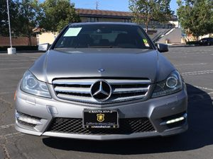 2013 MERCEDES C 250 Luxury Sedan Carfax Report - No AccidentsDamage Reported  Gray  We are no