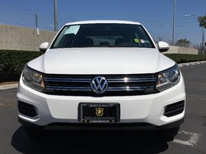 2014 Volkswagen Tiguan S Carfax 1-Owner - No AccidentsDamage Reported  White  We are not resp