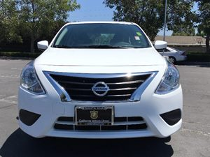 2016 Nissan Versa 16 SV Carfax 1-Owner  White  We are not responsible for typographical error