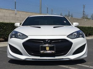 2013 Hyundai Genesis Coupe 20T R-Spec Carfax 1-Owner - No AccidentsDamage Reported  White  W