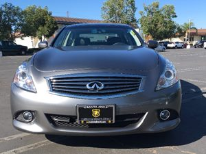2015 INFINITI Q40 Base Carfax 1-Owner - No AccidentsDamage Reported  Gray  We are not respons