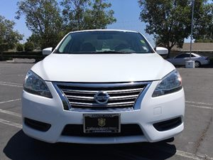 2014 Nissan Sentra S Carfax 1-Owner - No AccidentsDamage Reported  Aspen White  We are not re