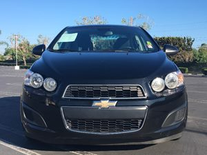 2012 Chevrolet Sonic LT Carfax 1-Owner - No AccidentsDamage Reported  Black  We are not respo