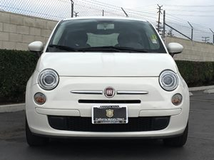 2012 FIAT 500 Pop Carfax Report - No AccidentsDamage Reported  White  We are not responsible