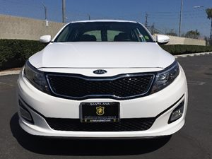 2014 Kia Optima LX Carfax 1-Owner - No AccidentsDamage Reported  Snow White Pearl See ourenti