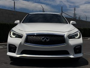 2014 INFINITI Q50 Sport Carfax 1-Owner - No AccidentsDamage Reported  Moonlight White  We are
