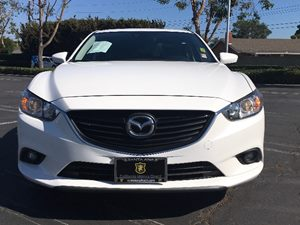 2015 Mazda Mazda6 i Touring Carfax 1-Owner  Snowflake White Pearl Mica  We are not responsible