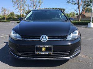 2015 Volkswagen Golf SportWagen TDI SEL Carfax 1-Owner - No AccidentsDamage Reported  Black