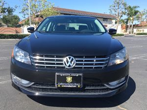 2015 Volkswagen Passat TDI SEL Premium Carfax 1-Owner  Black Uni See ourentire inventory at ww