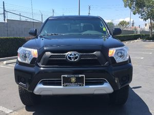 2012 Toyota Tacoma PreRunner Carfax 1-Owner - No AccidentsDamage Reported  Black See ourentir