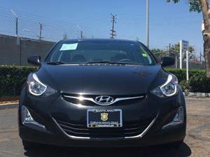 2014 Hyundai Elantra SE Carfax 1-Owner - No AccidentsDamage Reported  Phantom Black  We are n