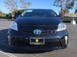 2014 Toyota Prius Three Carfax 1-Owner - No AccidentsDamage Reported  Black See ourentire inv