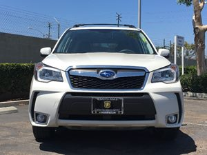2015 Subaru Forester 20XT Touring Carfax 1-Owner  Satin White Pearl  We are not responsible f