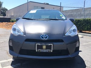 2014 Toyota Prius c One Carfax Report - No AccidentsDamage Reported  Magnetic Gray Metallic