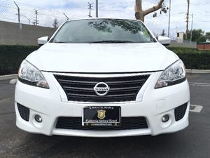 2014 Nissan Sentra SR Carfax 1-Owner  Aspen White  We are not responsible for typographical er