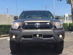 2015 Toyota Tacoma PreRunner V6 Carfax 1-Owner - No AccidentsDamage Reported  Tan  We are not